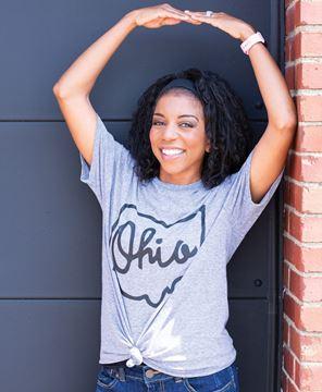 Picture of Ohio Tee - Heather Graphite XXL