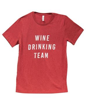 Picture of Wine Drinking Team T-Shirt XXL