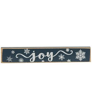 Picture of Joy, Peace, Noel Snowflake Mini Stick, 3 Asstd.