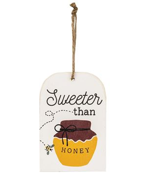 Picture of Sweeter Than Honey Wooden Tag