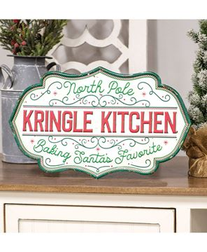 Picture of Kringle Kitchen Metal Sign