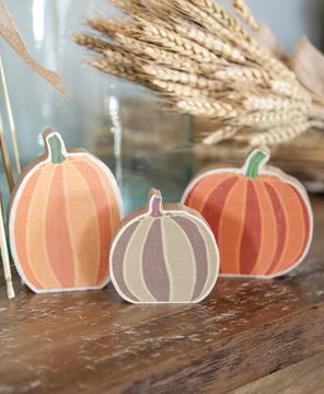Picture of Chunky Pumpkin Sitters, 3/Set