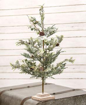 "Picture of Sparkle Cedar & Berry Tree, 28"""