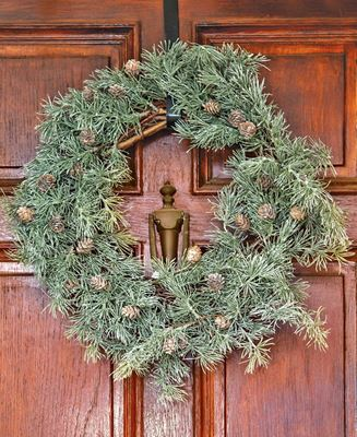 """Picture of Weeping Pine Wreath, 24"""""""