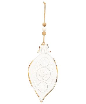 Picture of Shabby Chic Metal Teardrop Ornament