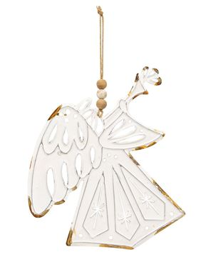 Picture of Shabby Chic Metal Angel Ornament