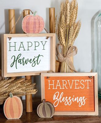 Picture of Happy Harvest Frame w/Jute Hanger