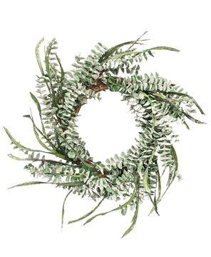 Picture of Winter Sparkle Eucalyptus Wreath