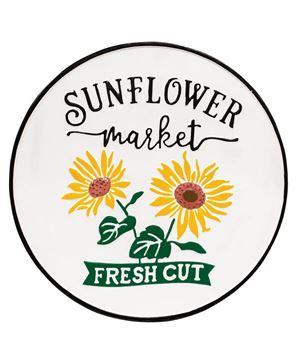 Picture of Sunflower Market Enamel Sign