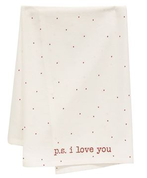 Picture of PS I Love You Dish Towel