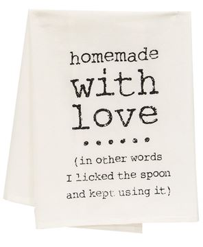 Picture of Homemade with Love Dish Towel
