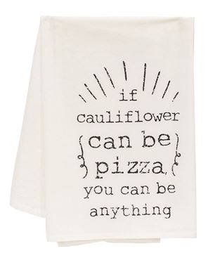 Picture of If Cauliflower Can Be Pizza Dish Towel