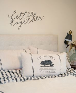 Picture of Better Together Wire Script Wall Words