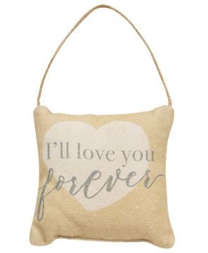 Picture of I'll Love You Forever Pillow Ornament