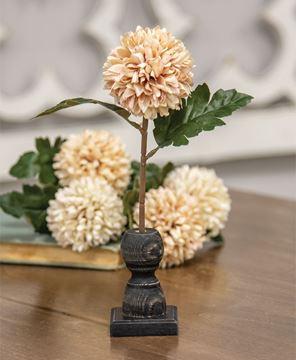 Picture of Short Black Spindle Flower Holder