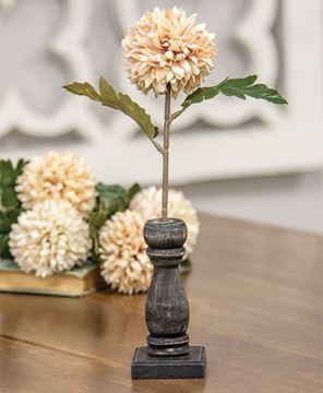Picture of Medium Black Spindle Flower Holder