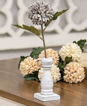 Picture of Medium White Spindle Flower Holder