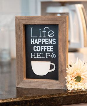 Picture of Life Happens Shadowbox Frame