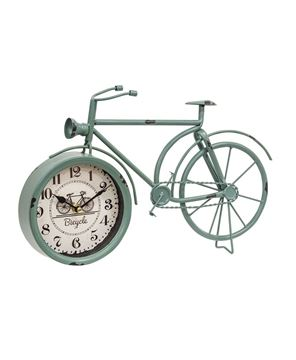 Picture of Farmhouse Blue Bicycle Clock