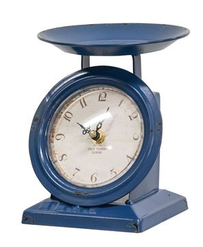 Picture of Vintage Navy Old Town Scale Clock