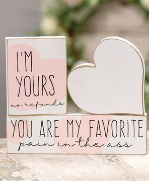Picture of I'm Yours Blocks, 3/Set