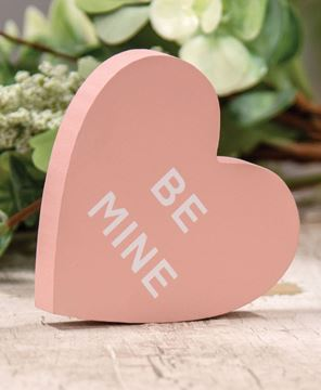 Picture of Be Mine Conversation Heart Block