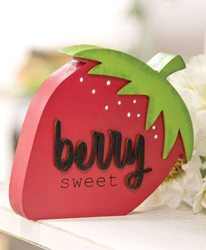 Picture of Berry Sweet Chunky Strawberry Sitter