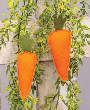 Picture of Felt Carrots Ornament