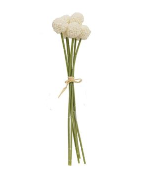 Picture of White Billy Ball Bouquet