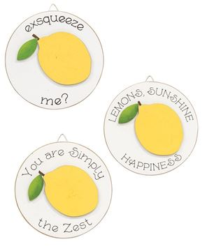 Picture of Exsqueeze Me Mini Round Easel Sign, 3 Asstd.