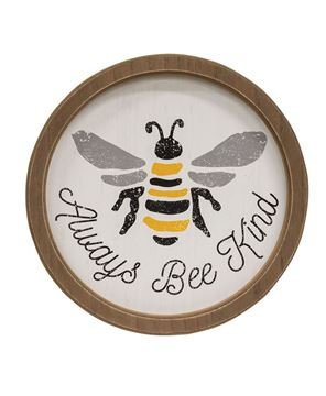 Picture of Always Bee Kind Circle Frame