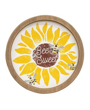 Picture of Bee Sweet Sunflower Circle Frame