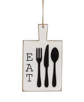 Picture of Distressed EAT Cutting Board Ornament