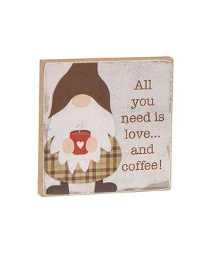 Picture of Coffee Gnome Block, 3 Asstd.