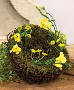 Picture of Vine & Moss Buttercup Bird Nest