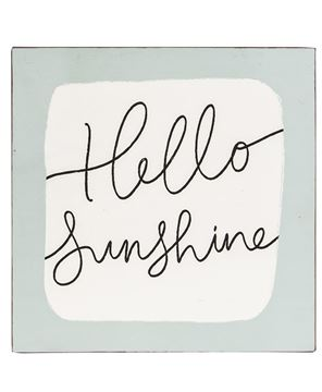 Picture of Hello Sunshine Metal Sign