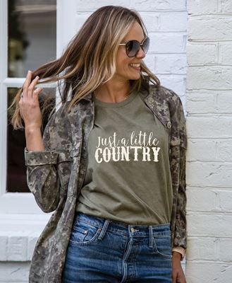 Picture of Just a Little Country T-Shirt