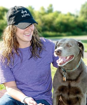 Picture of Dog Mom Baseball Cap